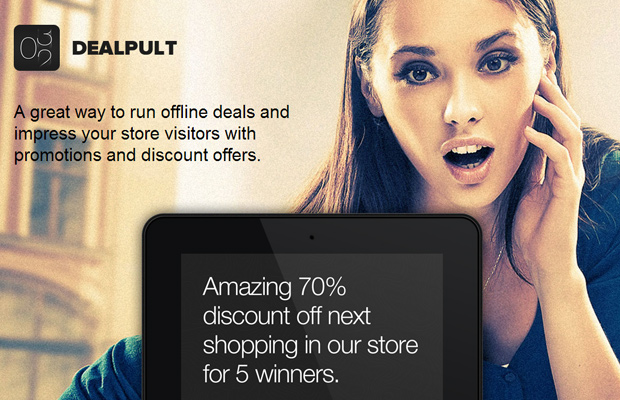 dealpult startup homepage fullscreen background image